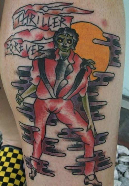 Michael Jackson Tattoo