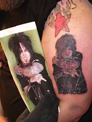 Nikki Sixx Tattoo