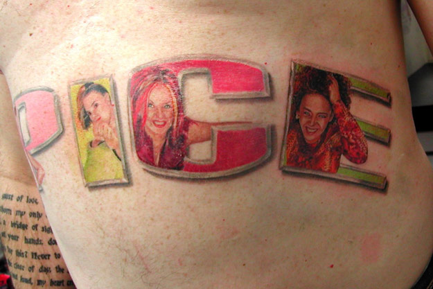 Spice Girls Tattoo